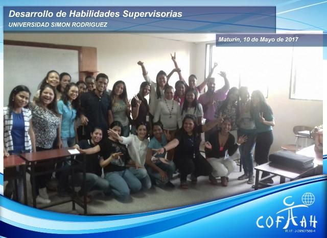 Conferencia Desarrollo de Habilidades Supervisorias (UNIVERSIDAD SIMON RODRIGUEZ) Maturín