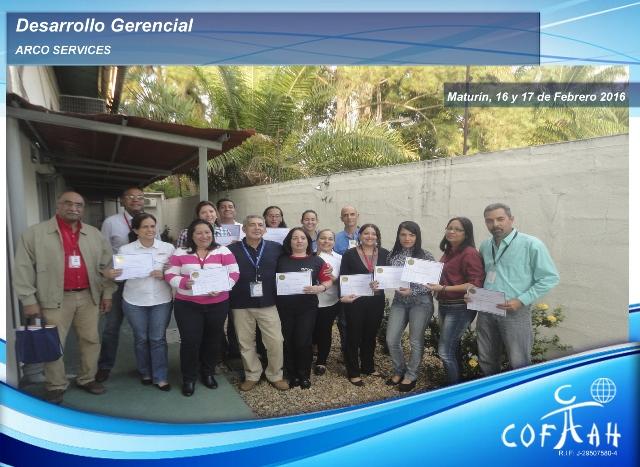 Desarrollo Gerencial (ARCO Services) Maturín