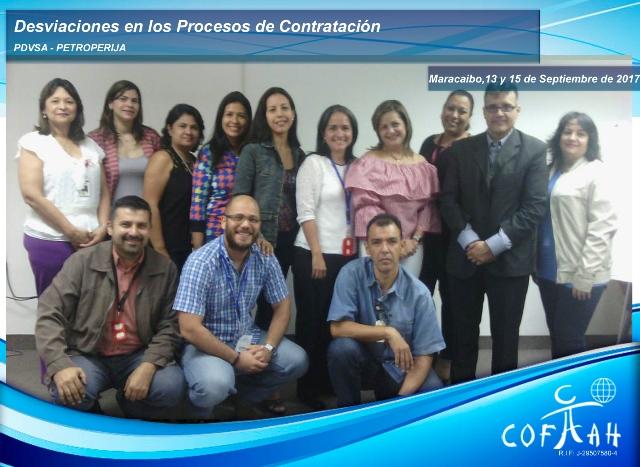 Desviaciones en los Procesos de Contratación (PDVSA Petroperija) Maracaibo