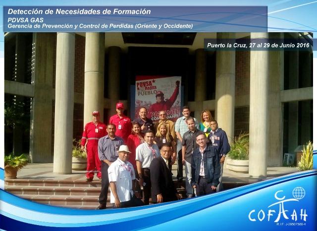 Detección de Necesidades de Formación (PDVSA Gas) Puerto la Cruz