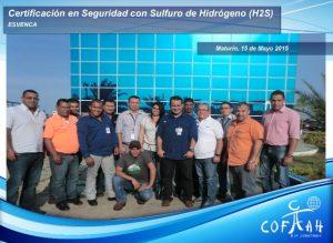 Certificación en Seguridad con el Sulfuro de Hidrogeno - H2S (ESVENCA) Maturín