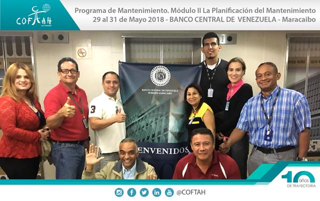 Programa de Mantenimiento – Modulo II (BCV) Maracaibo