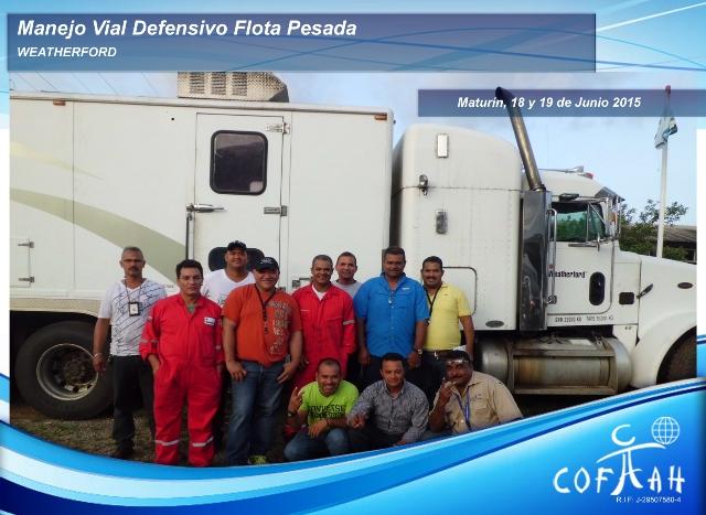 Manejo Vial Defensivo - Flota Pesada (WEATHERFORD) Maturín