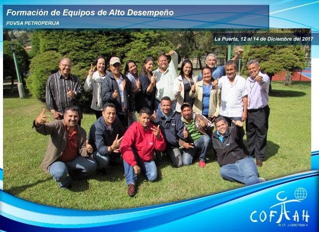 Formación de Equipos de Alto Desempeño (PDVSA Petroperija) La Puerta