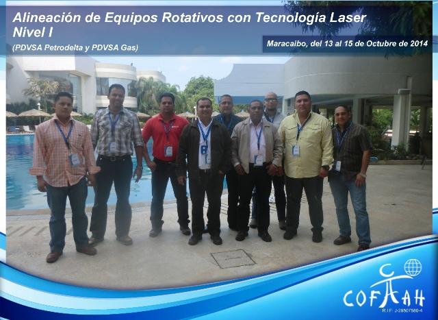 Alineación de Equipos Rotativos con Tecnología Laser - Nivel 1 (PDVSA Varios) Maracaibo