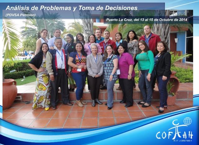 Análisis de Problemas y Toma de Decisiones (PDVSA Petróleo) Puerto La Cruz