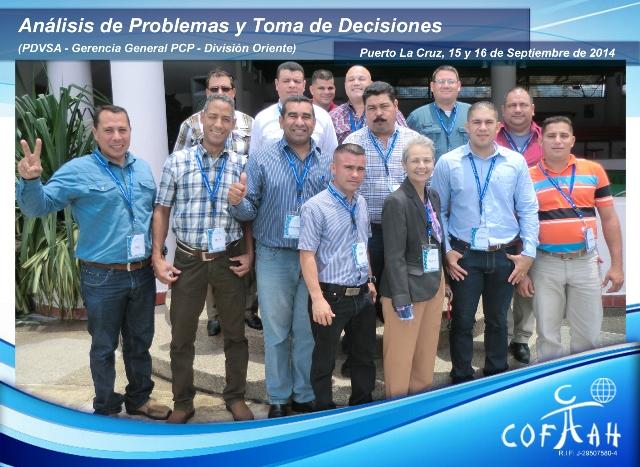 Análisis de Problemas y Toma de Decisiones (PDVSA) Puerto La Cruz
