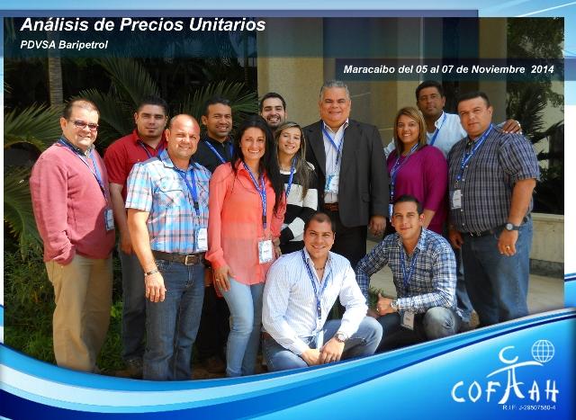 Análisis de Precios Unitarios (BARIPETROL) Maracaibo