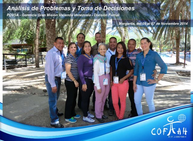 Análisis de Problemas y Toma de Decisiones (PDVSA) Isla de Margarita