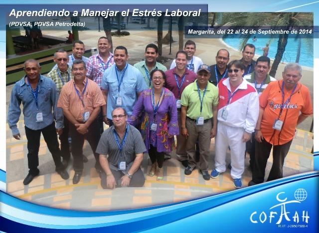 Aprendiendo a Manejar el Estrés Laboral (PDVSA) Isla de Margarita