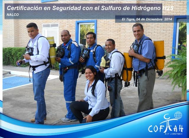 Certificación en Seguridad con el Sulfuro de Hidrógeno (NALCO) El Tigre - 2da sesión