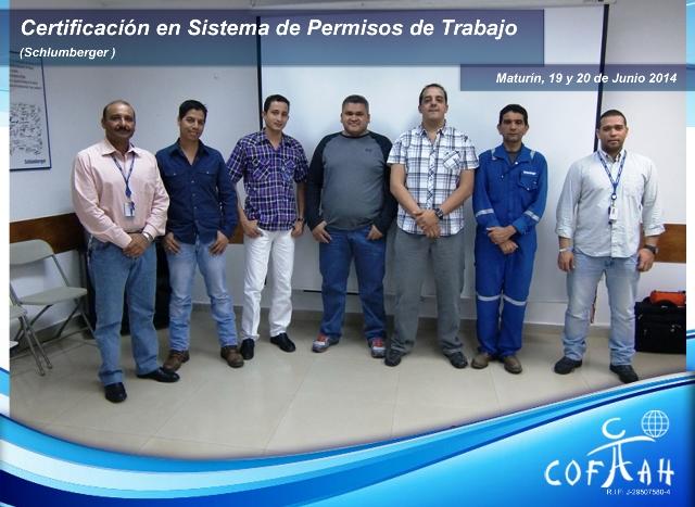 Certificación en Sistema de Permisos de Trabajo (SCHLUMBERGER) Maturin