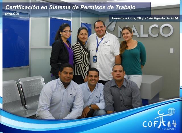 Certificación en Sistema de Permisos de Trabajo (NALCO) Puerto La Cruz