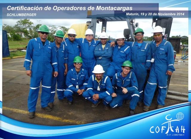 Certificación de Operadores de Montacargas (SCHLUMBERGER) Maturín