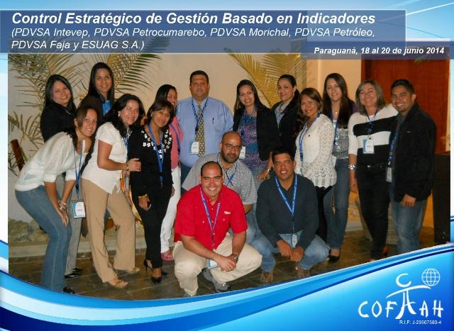 Control Estratégico de Gestión Basado en Indicadores (PDVSA Varios) Paraguaná