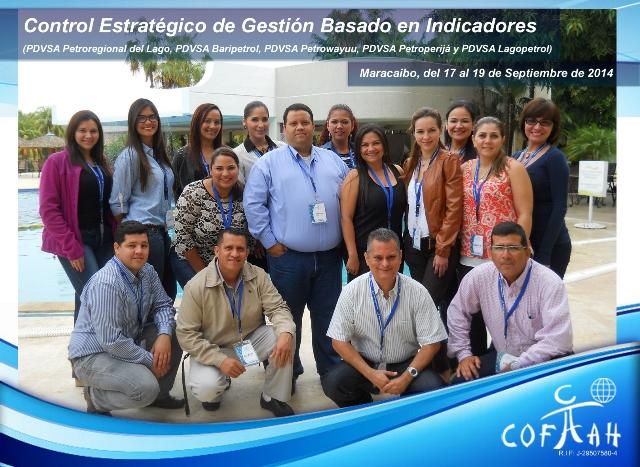 Control Estratégico de Gestión basado en Indicadores (PDVSA Varios) Maracaibo
