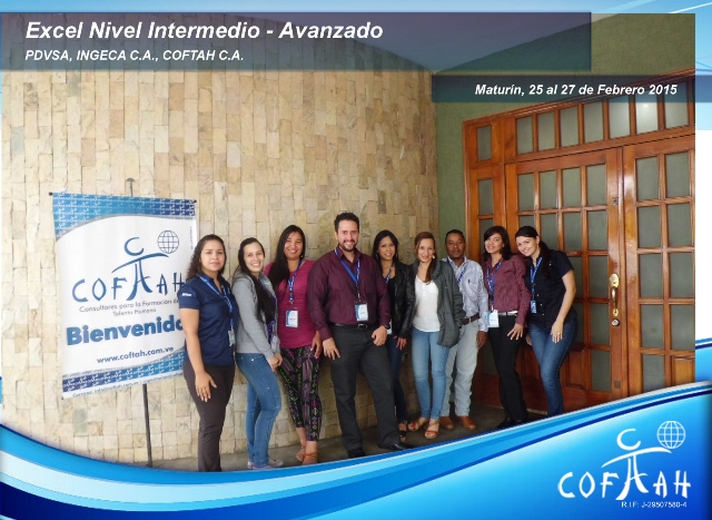 Excel Nivel Intermedio - Avanzado (PDVSA