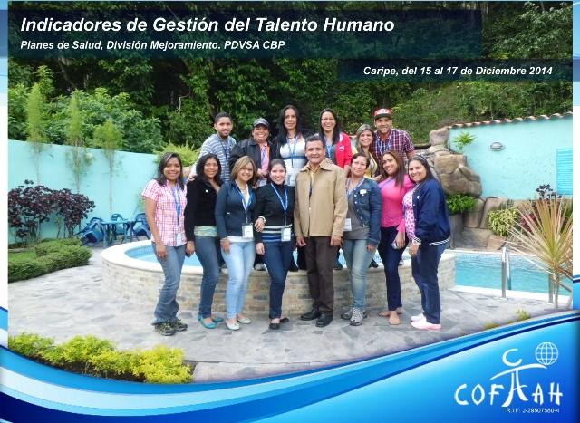 Indicadores de Gestión de Talento Humano (PDVSA) Caripe