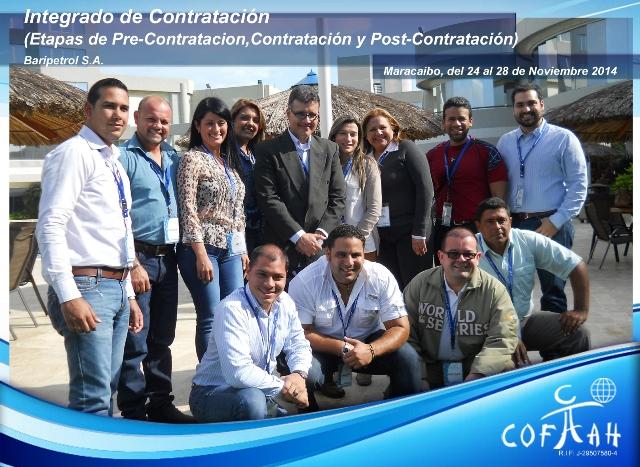 Integrado de Contratación (BARIPETROL) Maracaibo
