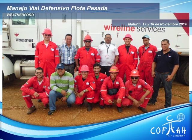 Manejo Vial Defensivo Flota Pesada (WEATHERFORD) Maturín