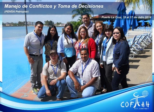 Manejo de Conflictos y Toma de Decisiones (PDVSA Petropiar) Puerto La Cruz