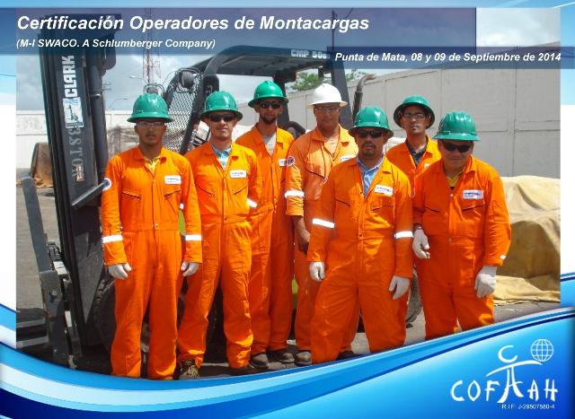 Certificación Operadores de Montacargas (MI SWACO) Punta de Mata