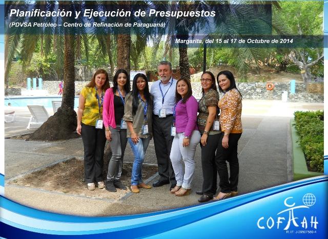 Planificación y Ejecución de Presupuestos (PDVSA Petróleo) Isla de Margarita