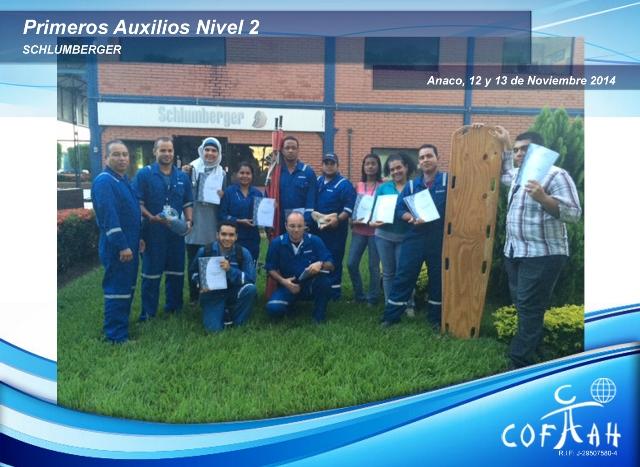 Primeros Auxilios Nivel 2 (SCHLUMBERGER) Anaco