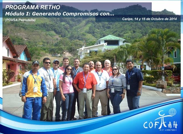 PROGRAMA RETHO - Generando Compromisos con  (PDVSA Petrodelta) Caripe