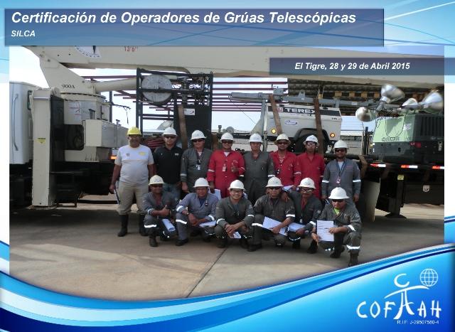 Certificación de Operadores de Grúas Telescópicas (SILCA) El Tigre