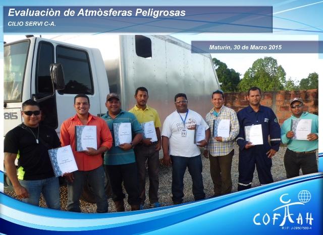 Certificación en Evaluación de Atmóferas Peligrosas (CLIO SERVI) Maturín