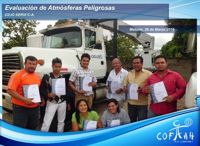 Certificación en Evaluación de Atmósferas Peligrosas (CLIO SERVI) Maturín