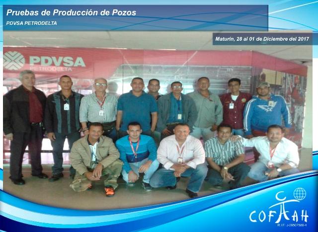 Pruebas de Producción de Pozos (PDVSA Petrodelta) Maturín
