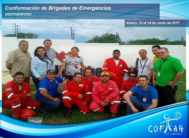 Conformación de Brigadas de Emergencias (WEATHERFORD) Anaco
