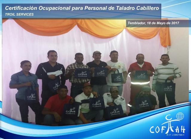 Certificación Ocupacional para Personal de Taladros Cabilleros (TROIL Services) Temblador