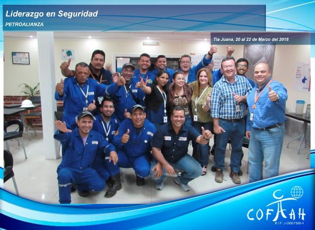 Liderazgo en Seguridad (PETROALIANZA) Tia Juana