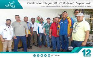 Certificación Integral SIAHO Módulo C – Supervisorio (PRECISION DRILLING) Anaco
