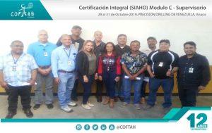 Certificación Integral SIAHO Módulo C - Supervisorio (PRECISION DRILLING) Anaco