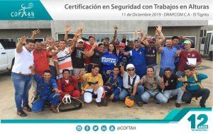 Certificación en Seguridad para Trabajos en Altura (DRAPCOM) El Tigrito
