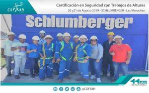 Certificación en Seguridad con Trabajos en Alturas (SCHLUMBERGER) Las Morochas