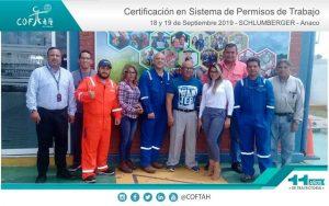Certificación en Sistemas de Permisos de Trabajo (SCHLUMBERGER) Anaco