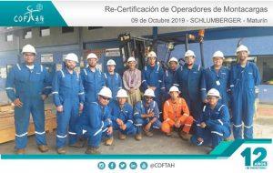 Re-Certificación de Operadores de Montacargas (SCHLUMBERGER) Maturín