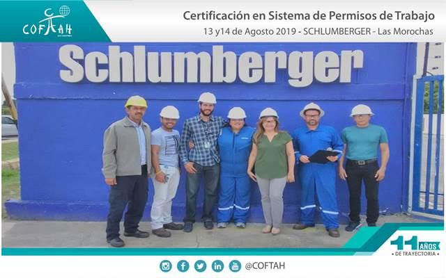 Certificacion en Sistemas de Permisos de Trabajo (SCHLUMBERGER) Las Morochas