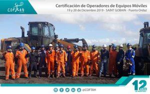 Certificación de Operadores de Equipos Móviles (SAINT GOBAIN) Pto.Ordaz