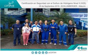 Certificación en Seguridad con el Sulfuro de Hidrogeno Nivel II (SCHLUMBERGER) Maturín