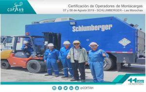 Certificación de Operadores de Montacargas (SCHLUMBERGER) Las Morochas