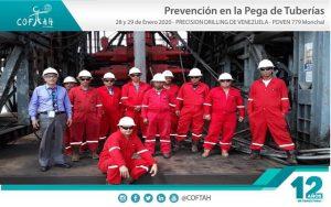 Certificación en Prevención de Pega de Tuberías (PRECISION DRILLING) Morichal