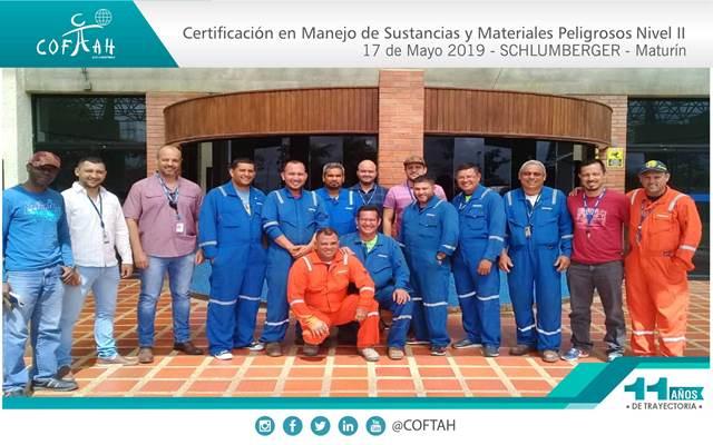 Certificación en Manejo de Sustancias y Materiales Peligrosos - Nivel II (SCHLUMBERGER) Maturín