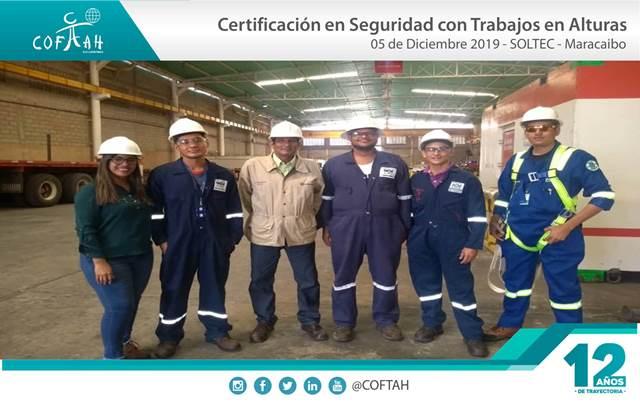 Certificación en Seguridad para Trabajos en Altura (SOLTEC) Maracaibo