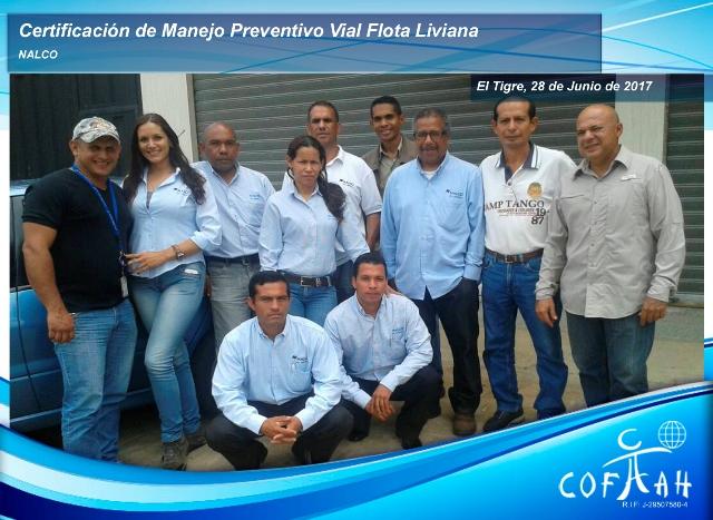 Certificación en Manejo Preventivo Vial - Flota Liviana (NALCO) El Tigre